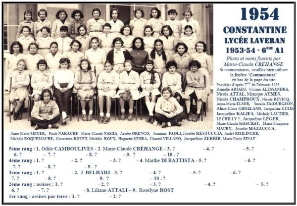 Une-L-1954-6èmeA1-MC-CREHANGE-