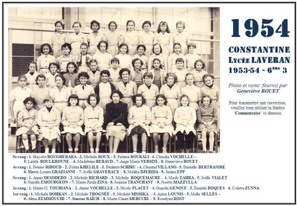 Une-L-1954-6e3-Geneviève-ROUET 4