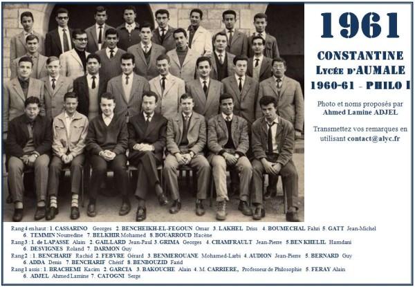 Une-Philo 1960-61 avec Ahmed ADJEL 2
