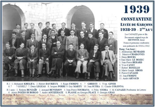 Une-A-1939-2eAA'1-les CANAZZI-Mennour Amar