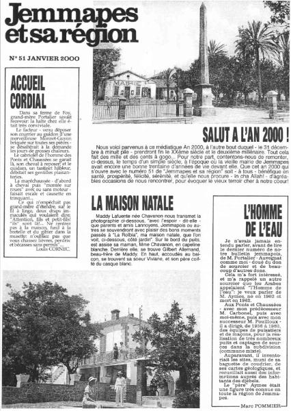 Une-JemmapesetsaRégion-n° 51-Janvier 2000
