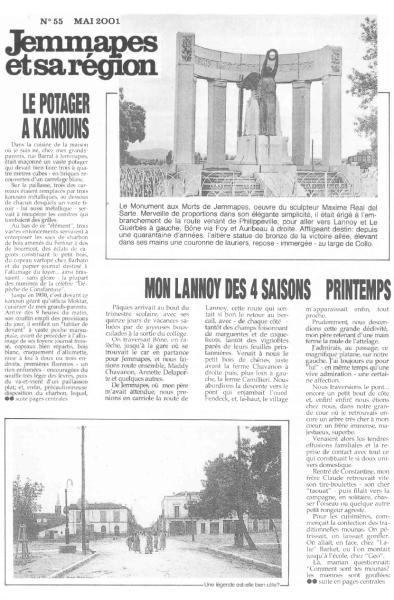Une-JemmapesetsaRégion-n°55-Mai-2001