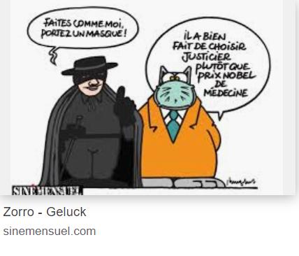 GELUCK Masqué